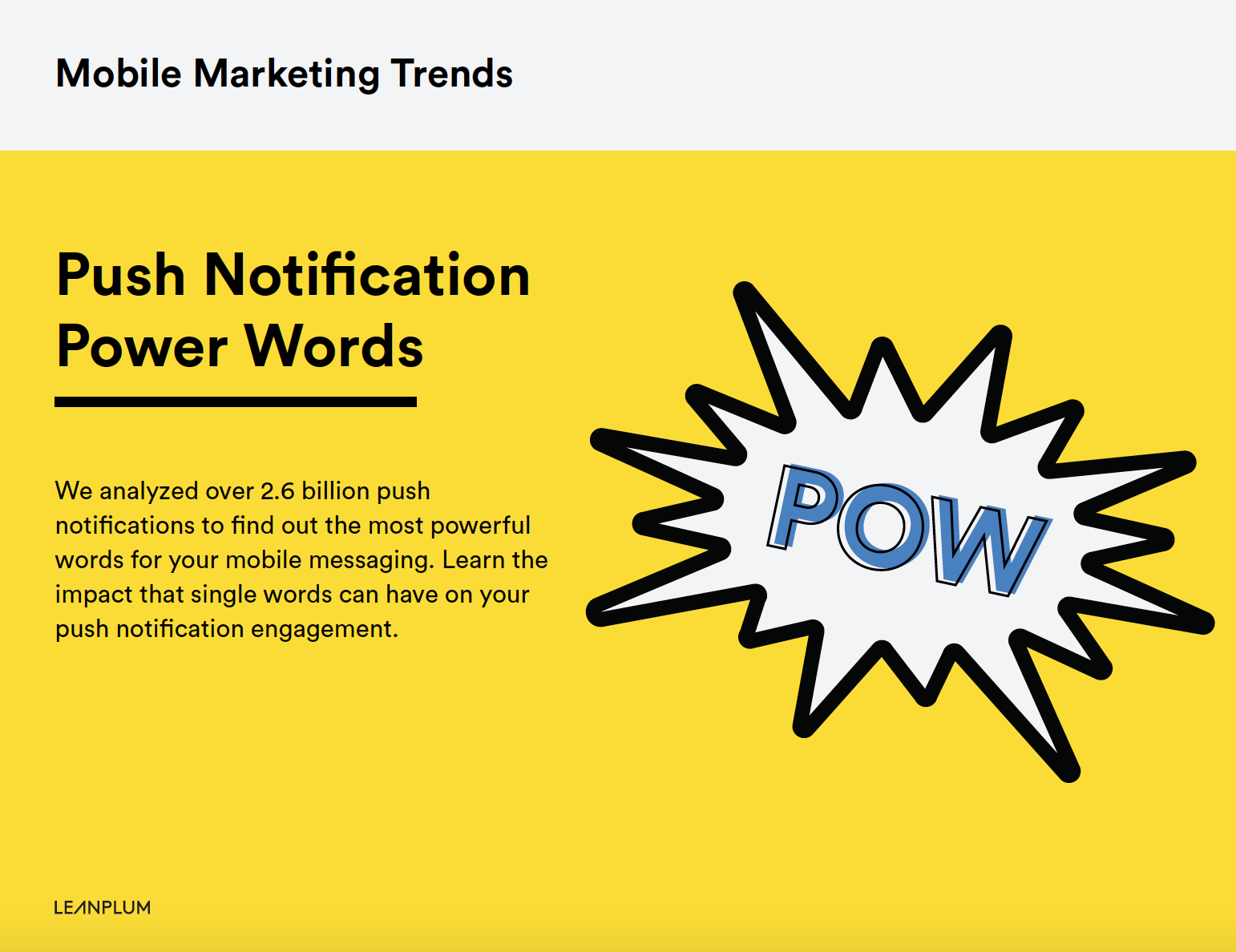 Push Notification Power Words