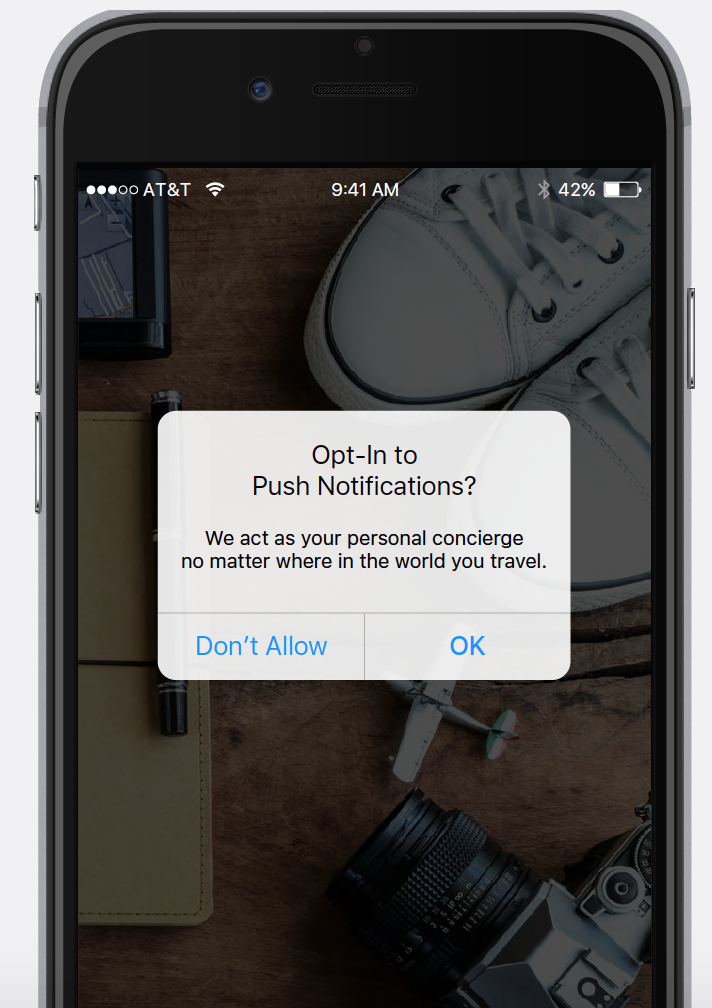 Mastering the first-time user experience: Push Pre-Permissions