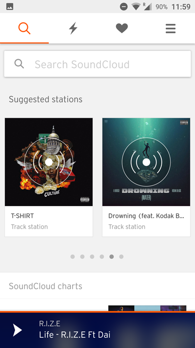 UX Analysis: Soundcloud's Mobile User Experience | Leanplum