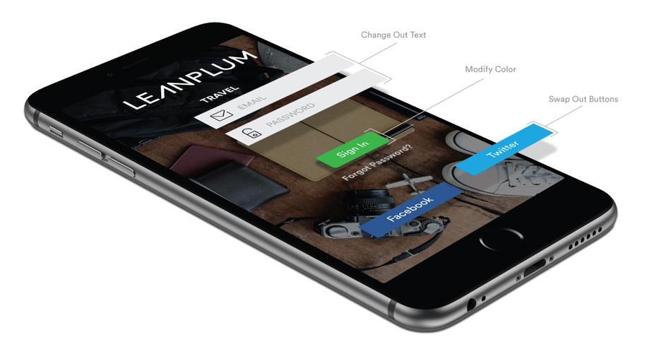 Mobile App UI Editor