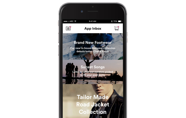 mobile news feed