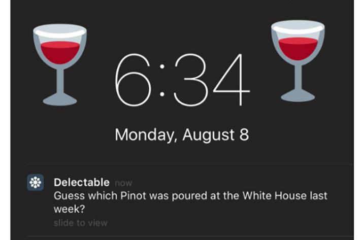 interesting push notification