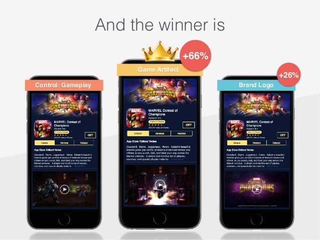 app store layout