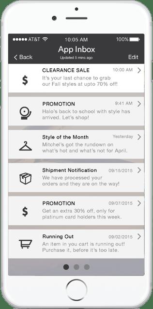 Leanplum Platform - App Inbox