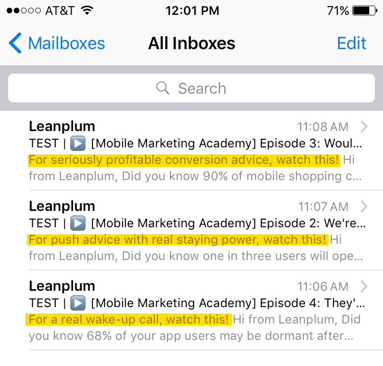 Email Marketing: Preheaders Best Practices | Leanplum