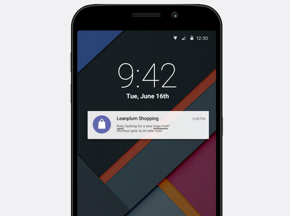 push notification test