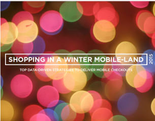 Shopping in a Winter Mobile-Land