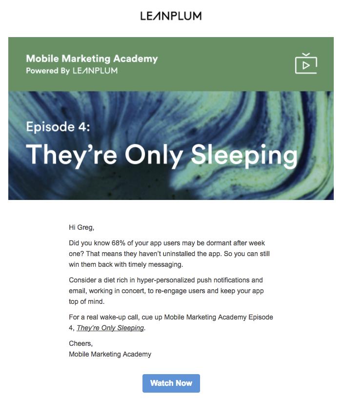 Desktop Email Marketing | Leanplum