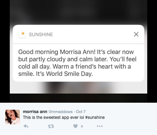 push notification examples